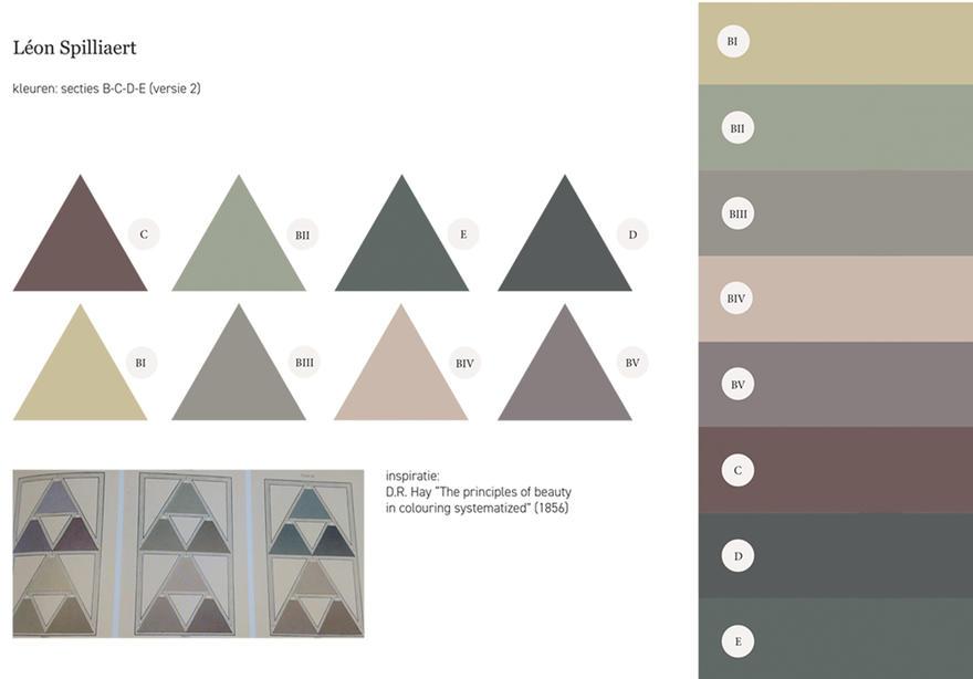 Spilliaert - kleurenpalet