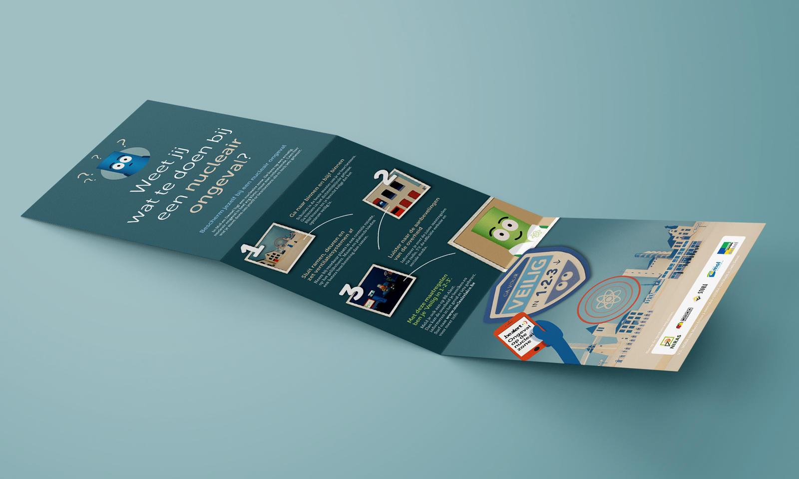 NIRAS-noodplanning affiches en flyer
