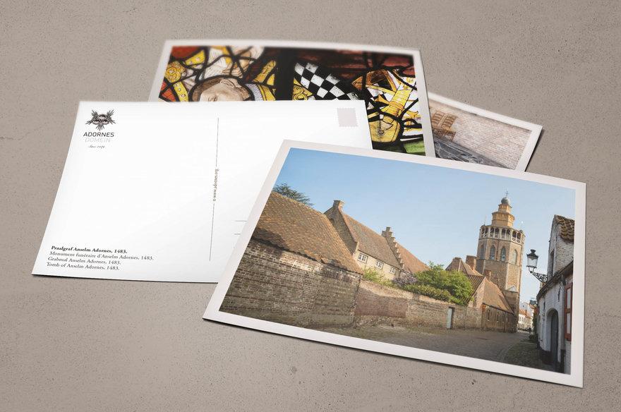 Adornes -postkaarten