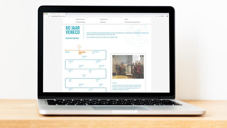 veneco 60 jaar website
