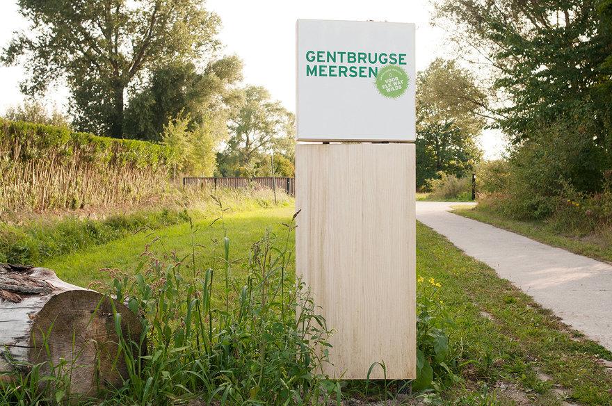 Gentbrugse meersen - buurttoegang