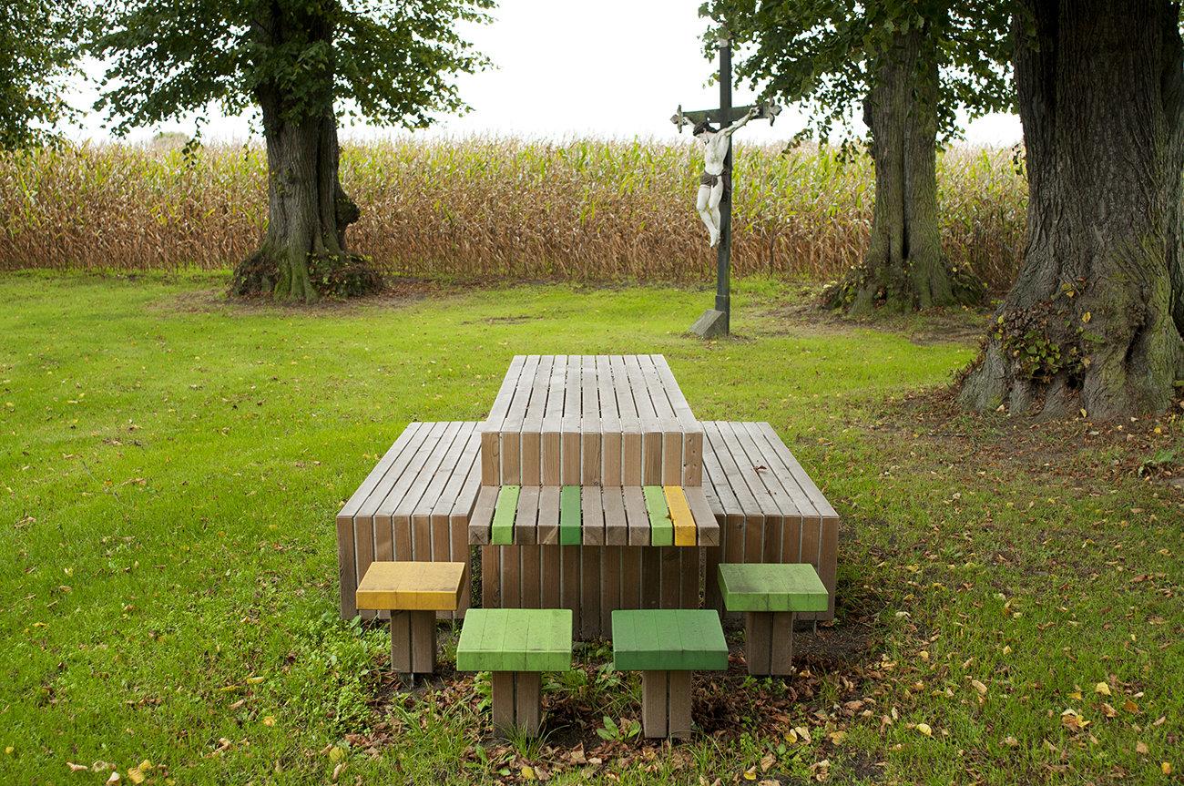 Bosland - picknickbanken
