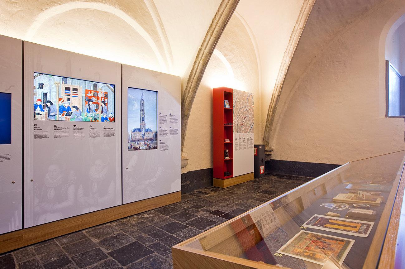 Belfort Brugge - wachtruimte