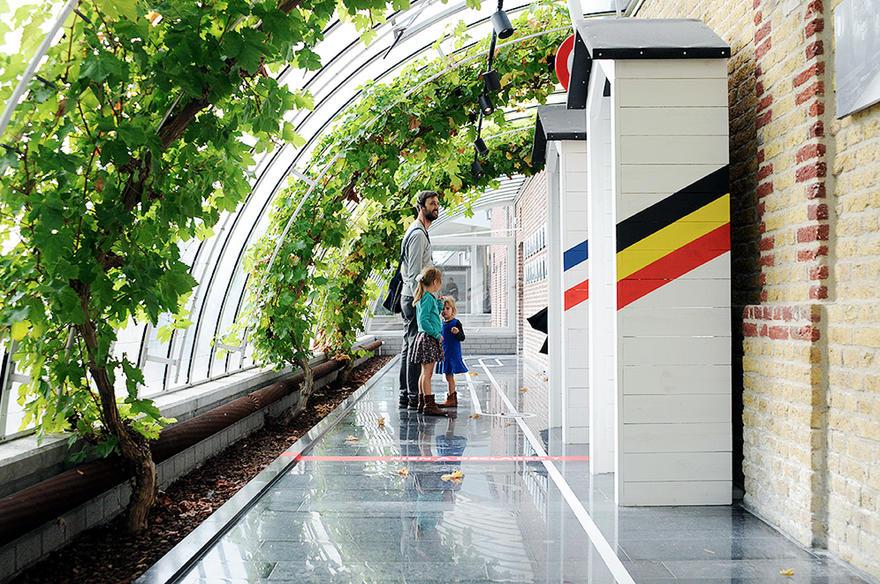 Fransmansmuseum - grens