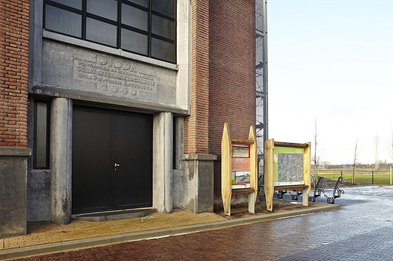 Rupelstreek - ingang nautisch bezoekerscentrum