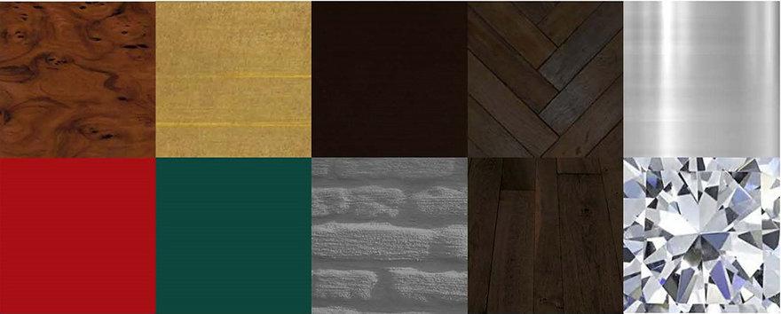 DIVA- materiaalgebruik museaal gedeelte