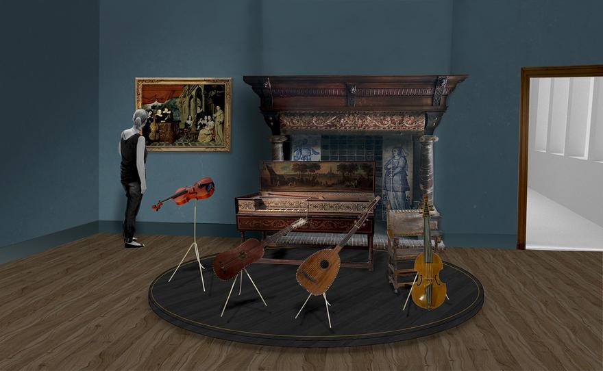 simulatie muziekkamer Rockox