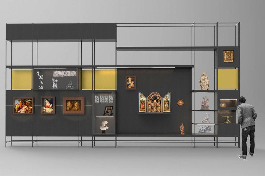 Rockox&Snijdershuis - simulatie preciosakast